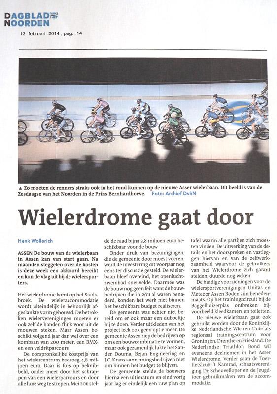2014.02.13.-wielerdrome-gaat-door